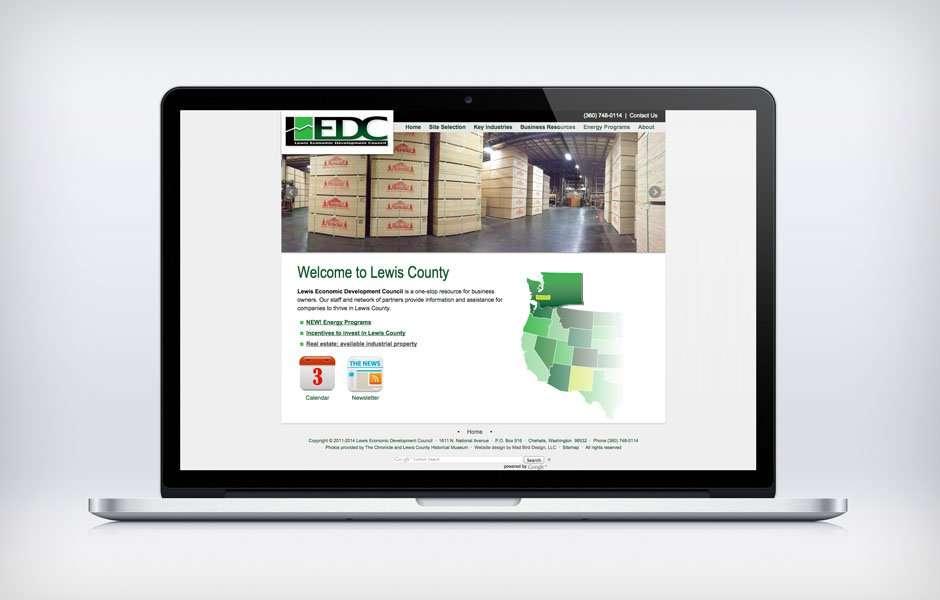 Lewis Economic Development Council Website