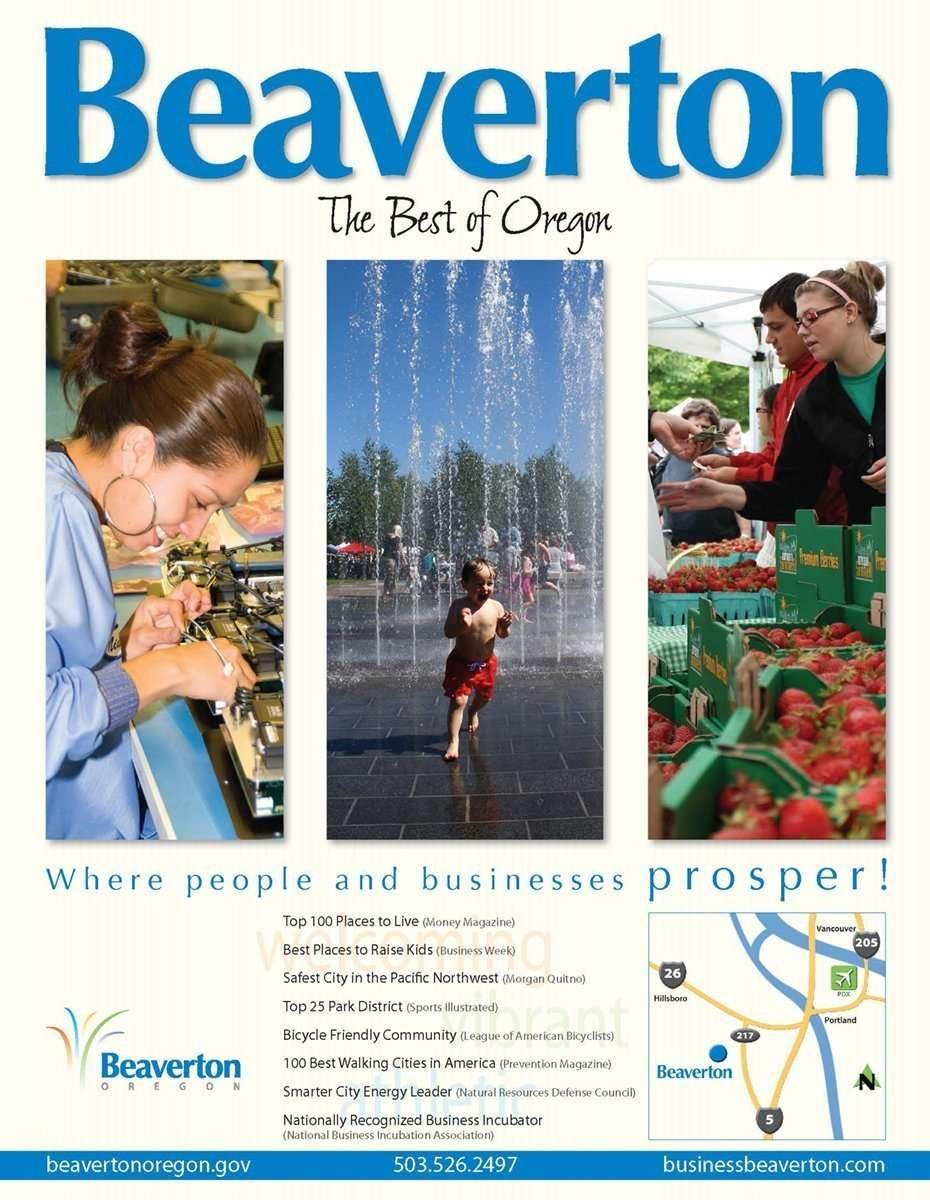 Beaverton Ad Visitor's Guide