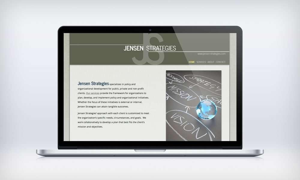 Jensen Strategies website