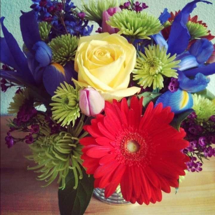 Flowers from Jo Barney