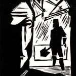 Black Road woodcut