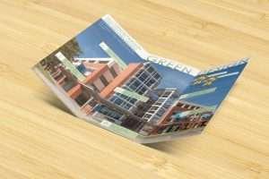 Green Design inside: tri-fold brochure