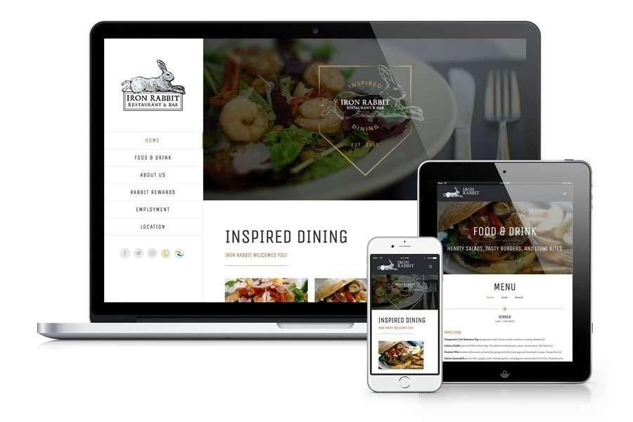 Iron Rabbit Restaurant & Bar website