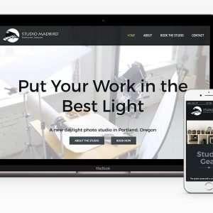 Studio MadBird website