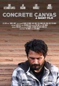 Concrete Canvas film poster