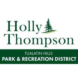 Holly Thompson campaign logo
