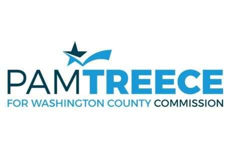 Pam Treece campaign logo