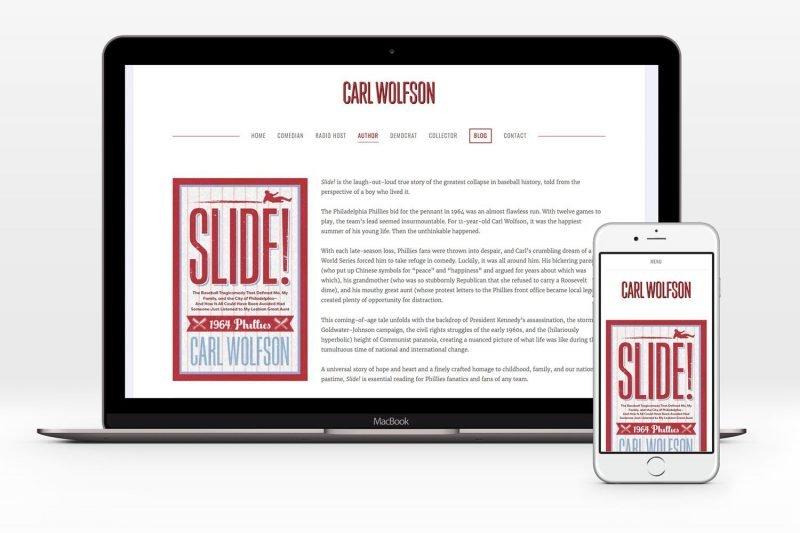 Carl Wolfson Website at carlwolfson.com