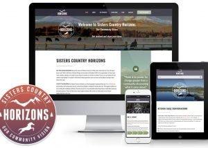 Sisters Horizons Logo & Website Design