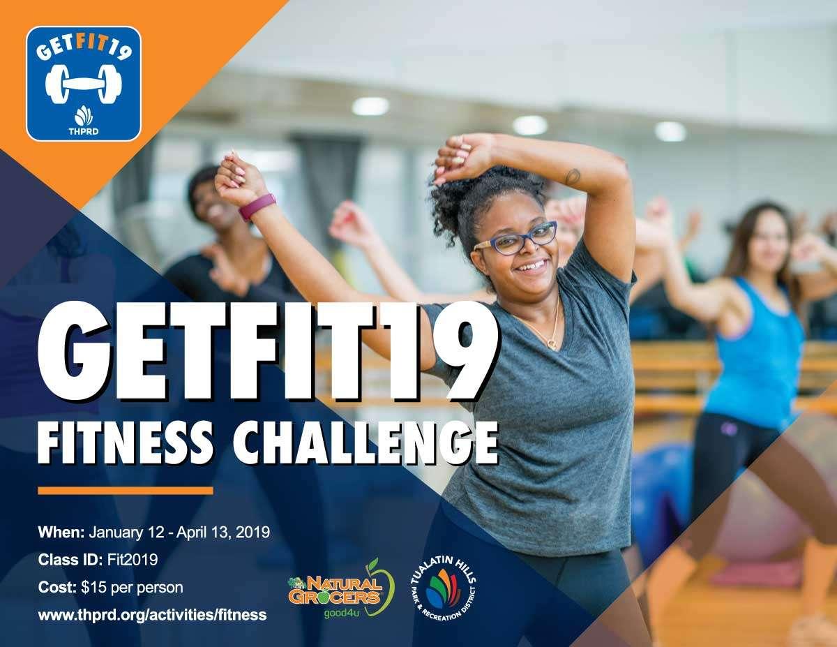 GetFit19 Challenge Poster