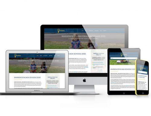 Branding & Website for Envision Estacada Schools 2030