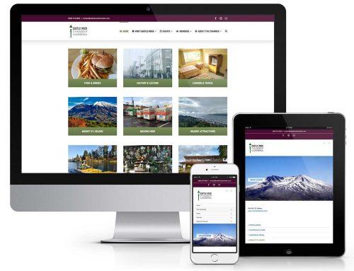 Website Refresh for Castle Rock Chamber of Commerce